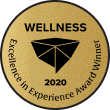 Genbook Excellence in Experience Awards badge - Wellness